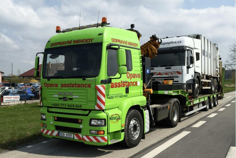 likvidace nákladních vozidel